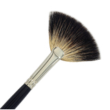 125-12 Raccoon Fan Brush