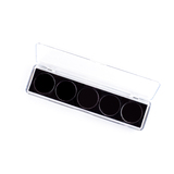 PB05  Professional 5 Pan Empty Palette Clear Box.