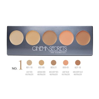 Cinema Secrets Ultimate Corrector 5-in-1 Pro Palette No.1