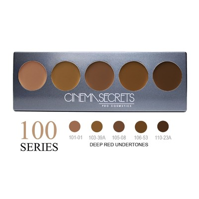 Cinema Secrets Ultimate Foundation 5-in-1 Pro Palette - 100 Series