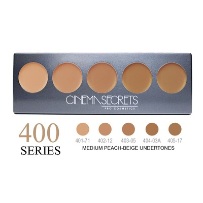 Cinema Secrets Ultimate Foundation 5-in-1 Pro Palette - 400 Series