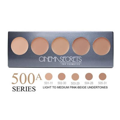 Cinema Secrets Ultimate Foundation 5-in-1 Pro Palette - 500A Series