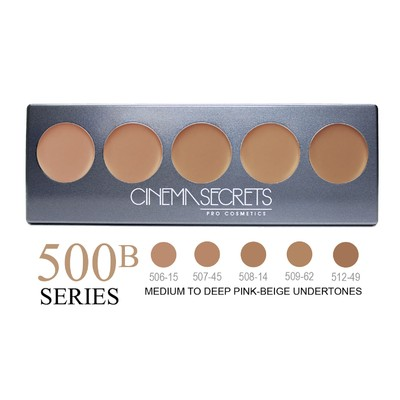Cinema Secrets Ultimate Foundation 5-in-1 Pro Palette - 500B Series