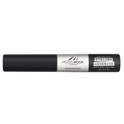 Modelrock Dark Waterproof Lash Glue 5gm - Latex Free